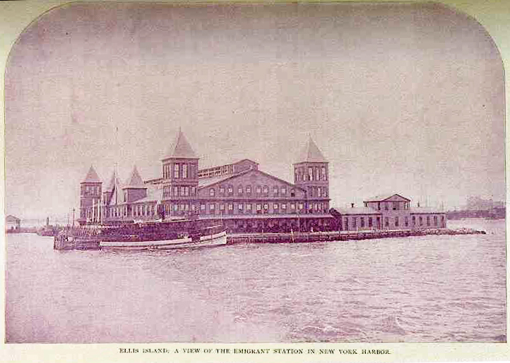 The Ellis Island story is part of my family history.